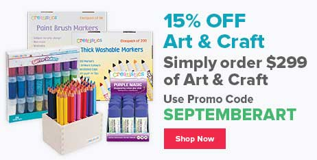 15% Off Art & Craft