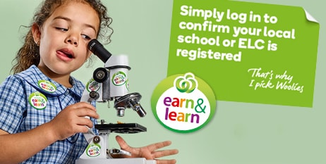 Simply log in to confirm your local school or LEC is registered. Earn and Learn