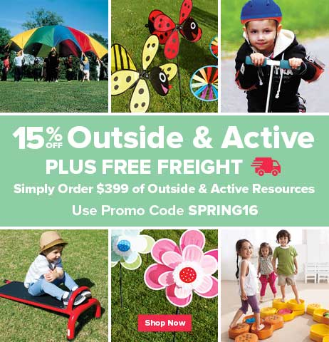 15% Off Outside and Active