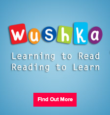 Wushka banner - Learning to Read. Reading to Learn.