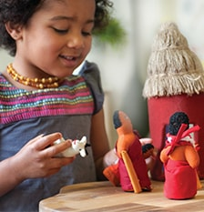 Create environments for imaginative play