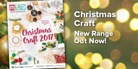 Christmas Craft 2017. New Catalogue out now!