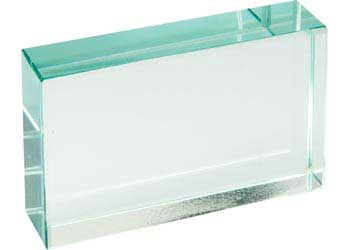 Glass Block Rectangular – 75 x 50 x 18mm