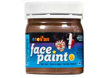 Pro Body & Face Paint 120ml Brown