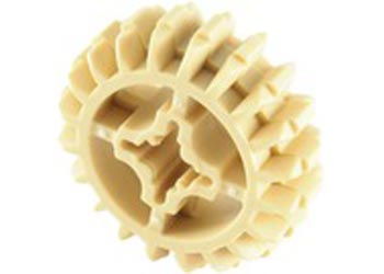 LEGO – 20 Tooth Double Bevel Gear Beige PK10