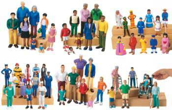 Lakeshore Multi Cultural Block Play People Set Mta Catalogue