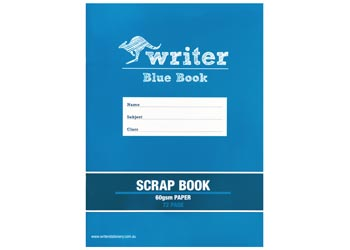 Blue Scrapbook with Paper cover 72page 60gsm