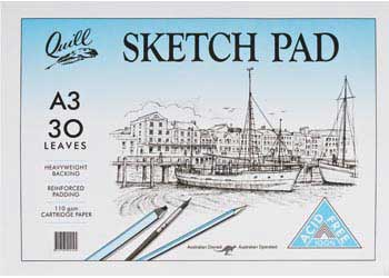 Sketch Pad 110gsm A3 30 sheets