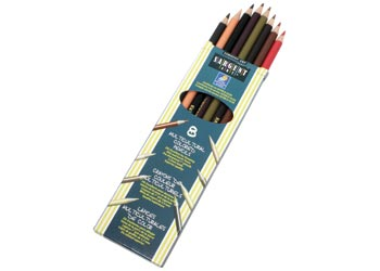 Sargent Art Multicultural Coloured Pencils PK8