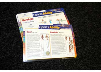 Sports Ability Traditional Indigenous Cards