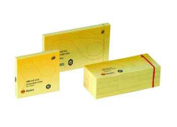 Marbig Sticky Notes 40 x 50mm Yellow – Pack of 12