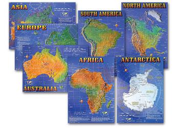 Seven Continents Bulletin Boar Maps