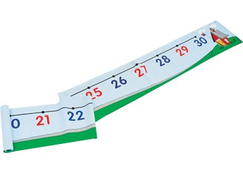 Number line 0 30 floor mat mta catalogue for Floor number line