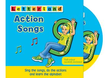 Letterland Action Songs Cd Mta Catalogue