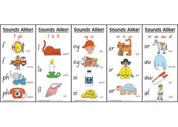 Sounds Alike Cards Pack of 11