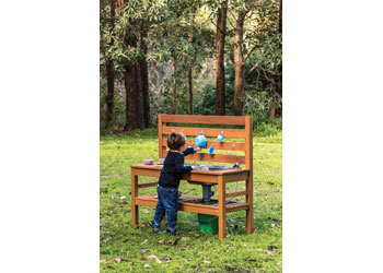 Outdoor Home Corner Pretend Play