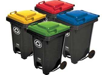 Set Of 4 Recycling Bins 60l Mta Catalogue