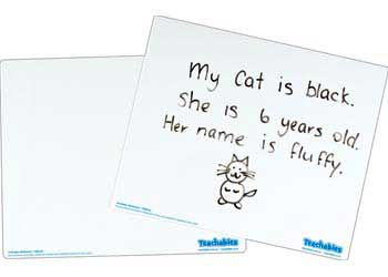 Write On Wipe Off Whiteboard Blanks – Pack of 30