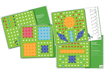 peg board cards u2013 set of 12 doublesided cards pegs u0026 peg boards - Peg Boards