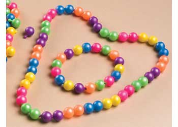 Plastic Round Linking Pop Beads 12mm 226g Pack