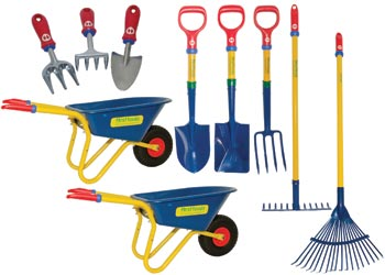 First tools complete gardening set of 10 mta catalogue for Gardening tools toronto