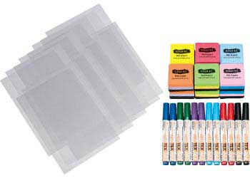 Lightbox transparency and marker kit mta catalogue for Chroma mural paint markers
